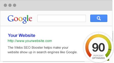 Webs-verktøyet SEO Booster