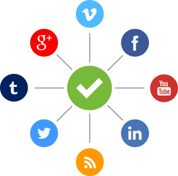 Sociale media-iconen voor je website