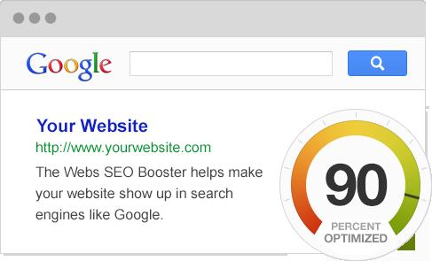 SEO-Booster-Tool von Webs