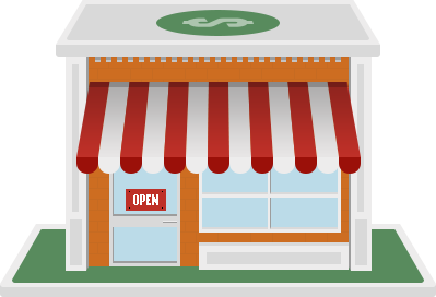 Small business web store