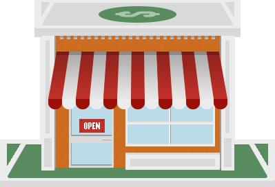Online butik til små erhvervsdrivende